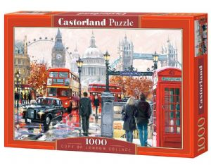 London Collage 1000 piece jigsaw puzzle  680mm x 490mm (pz)